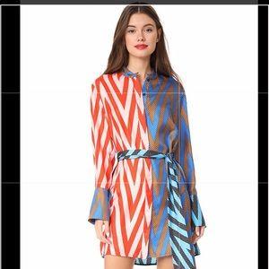 DVF wrap dress in Odeon print
